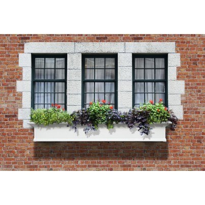 Mayne Yorkshire 6FT Window Box White  by Mayne