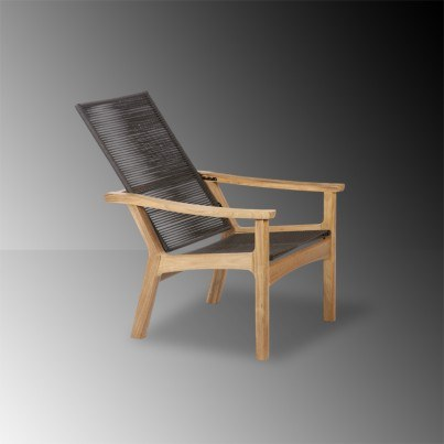 Barlow Tyrie Monterey Teak And Cord Dining Armchair