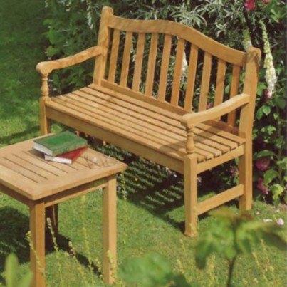 Barlow Tyrie Waveney Teak 4' Bench