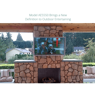 "Apollo Outdoor Weatherproof TV Enclosures for 60""- 65"" TV's"