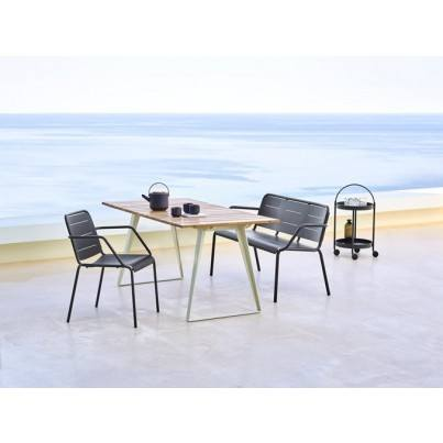 Cane-line Copenhagen Dining Table w/ Extensions
