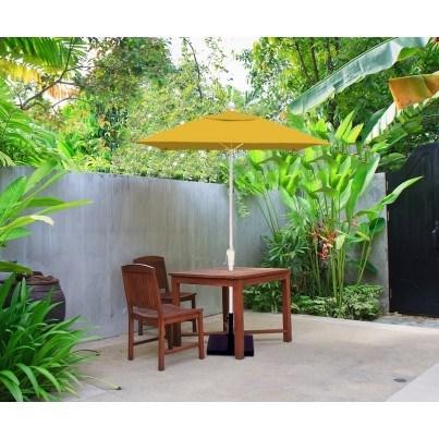Luxe Shade™ Lucia Square 6.5' Market Patio Umbrella