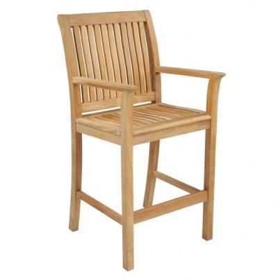 Kingsley Bate Chelsea Teak Bar Chair