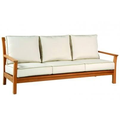 Kingsley Bate Chelsea Teak Deep Seating Sofa