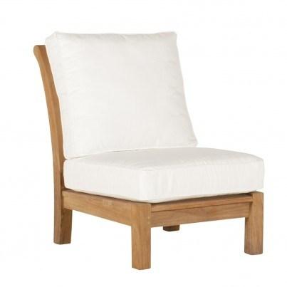 Kingsley Bate Chelsea Teak Sectional Armless Chair