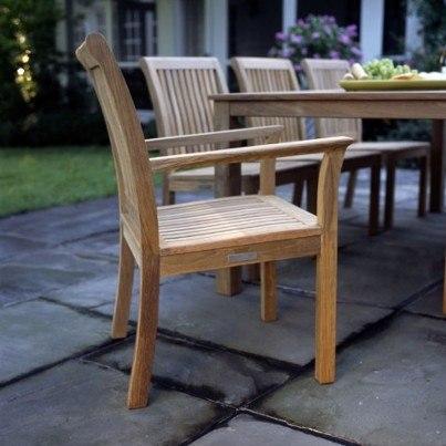 Kingsley Bate Chelsea Teak Dining Armchair