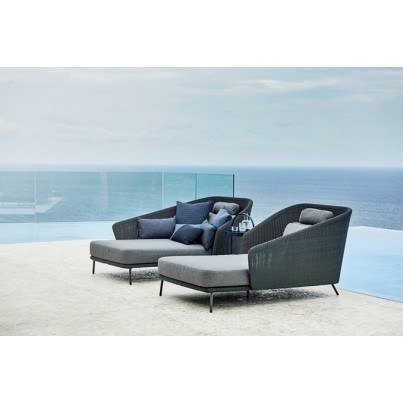 Cane-line Mega Daybed Right Facing