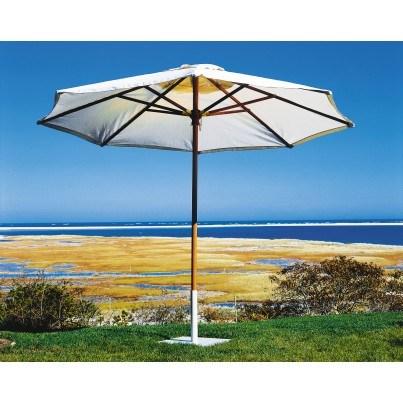 Kingsley Bate Octagonal Market Teak Umbrella 11.5'