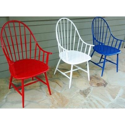 Three Coins Cast Windsor Cast Aluminum Chair