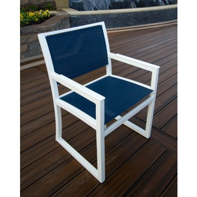 Trex® Outdoor Furniture™ Parsons Cube Dining Arm Chair