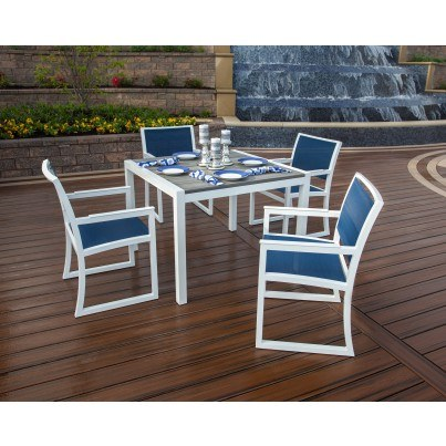 Trex® Outdoor Furniture™ Parsons 5 Piece Dining Ensemble