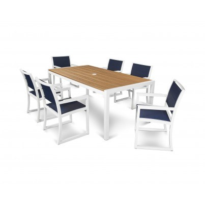 Trex® Outdoor Furniture™ Parsons 7-Piece Dining Ensemble