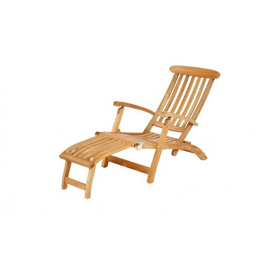 Prime Barlow Tyrie Commodore Teak Steamer Chair With 20 Footrest Theyellowbook Wood Chair Design Ideas Theyellowbookinfo