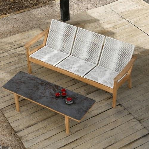 Sensational Barlow Tyrie Monterey Teak And Ceramic Coffee Table Spiritservingveterans Wood Chair Design Ideas Spiritservingveteransorg