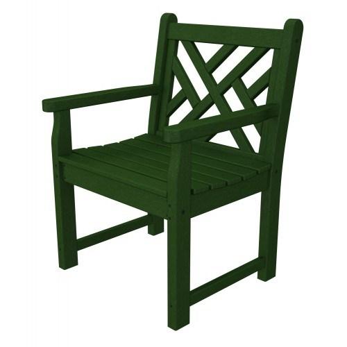 Fabulous Polywood Chippendale Garden Arm Chair Creativecarmelina Interior Chair Design Creativecarmelinacom