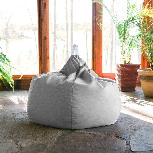 Terrific Kiss Outdoor Patio Bean Bag Chair Granite Machost Co Dining Chair Design Ideas Machostcouk