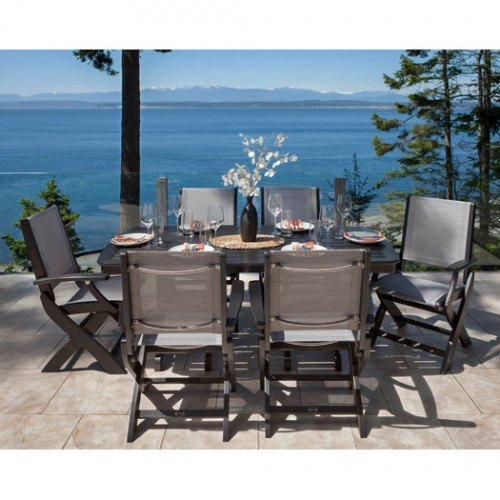 Marvelous Polywood Coastal 7 Piece Dining Ensemble Dailytribune Chair Design For Home Dailytribuneorg
