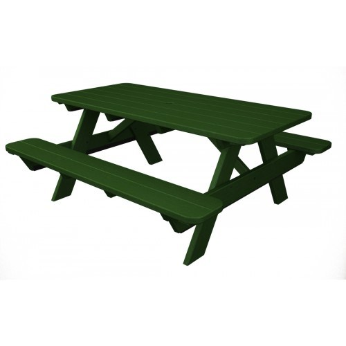 Brilliant Polywood Park 72 Picnic Table Gamerscity Chair Design For Home Gamerscityorg