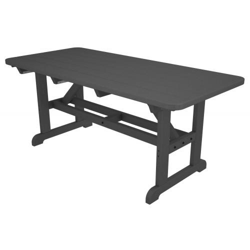 Incredible Polywood Park 36 X 72 Harvester Picnic Table Frankydiablos Diy Chair Ideas Frankydiabloscom