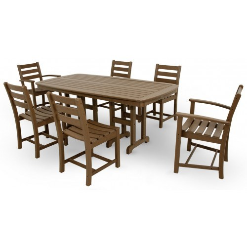 Outstanding Trex Outdoor Furniture Monterey Bay 7 Piece Dining Ensemble Gamerscity Chair Design For Home Gamerscityorg