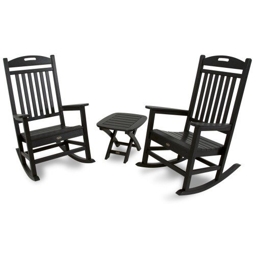Trex Outdoor Furniture Yacht Club 3 Piece Seating Ensemble