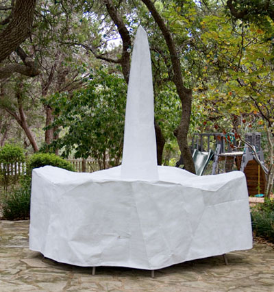 Bar Set Cover Umbrella White Product Photo