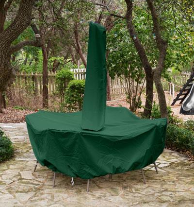 Bar Set Cover Umbrella Green Product Photo