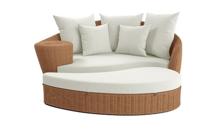 Barlow Tyrie Dune Daybed and Ottoman Cover