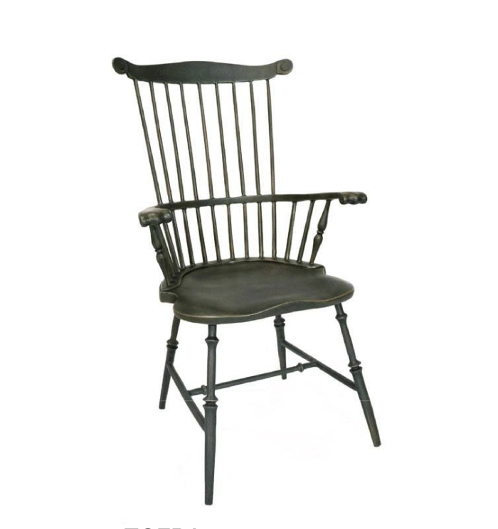 Fanback Armchair Product Photo