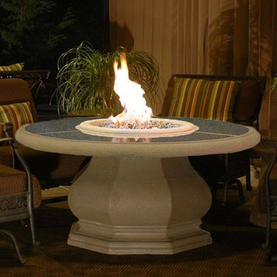 Fire Pit Table Granite Top Product Photo