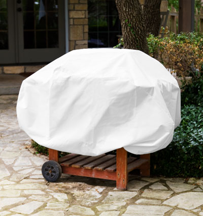 Barbecue Cover White Product Photo