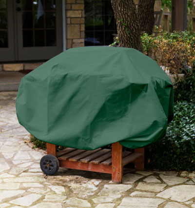 Barbecue Cover Green Product Photo