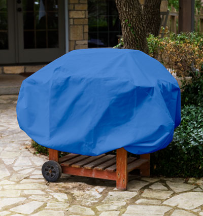 Barbecue Cover Blue Product Photo