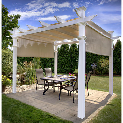 Canopied Pergola Product Photo