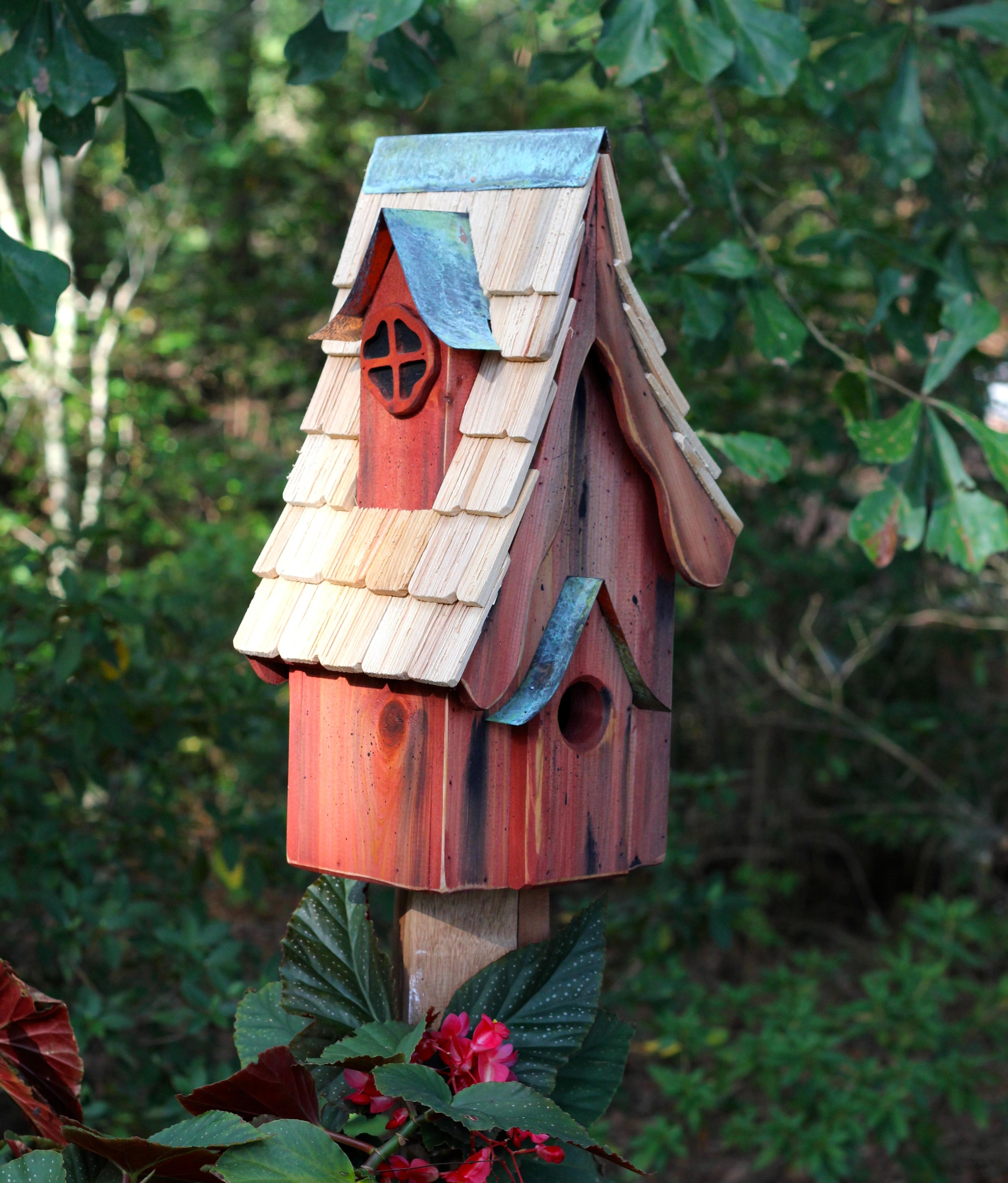 Bungalow Birdhouse Product Photo