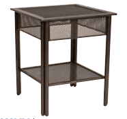 End Table Micro Mesh Top Product Photo