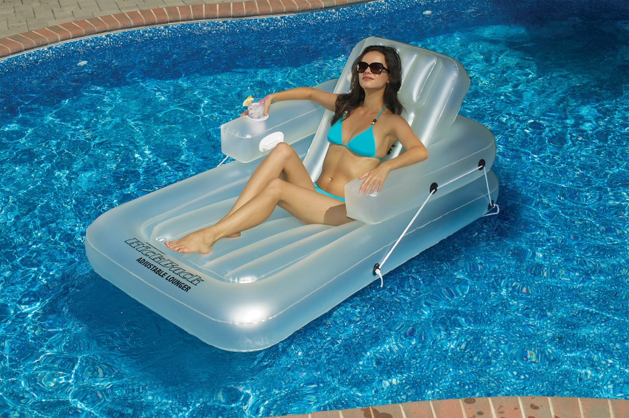 Recline Pool Lounger Product Photo