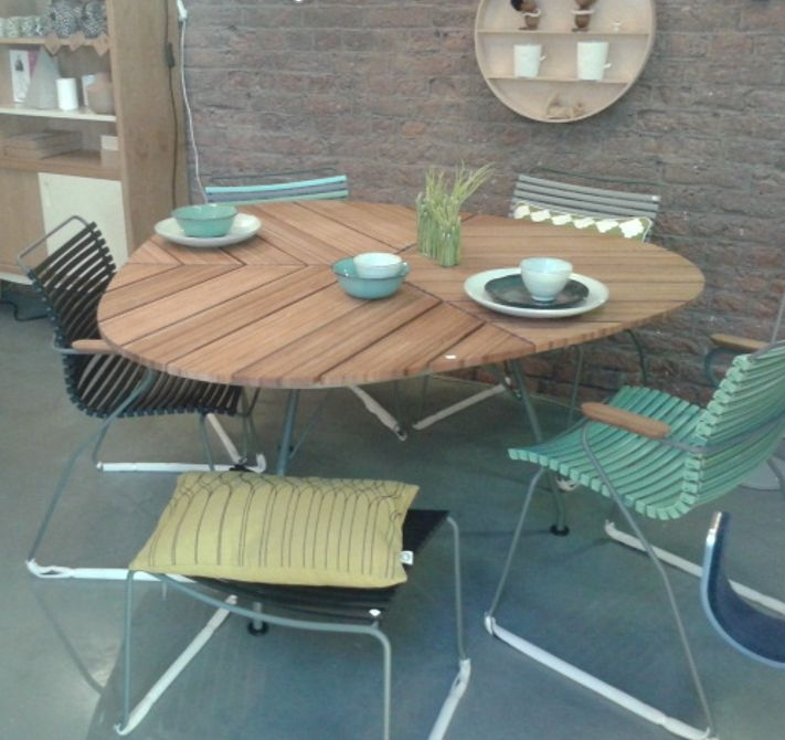 Dining Table Bamboo Leaf Shape Product Photo