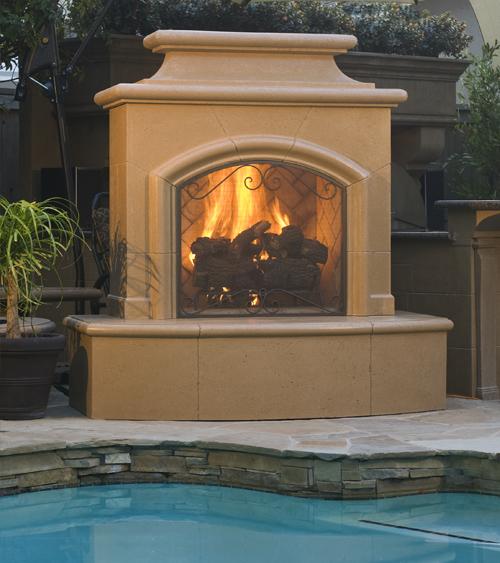 Mariposa Fireplace Product Photo