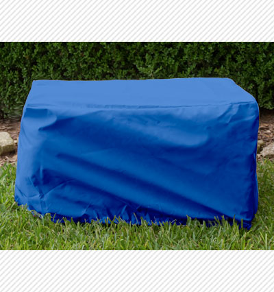 Cart Cover Blue Product Photo