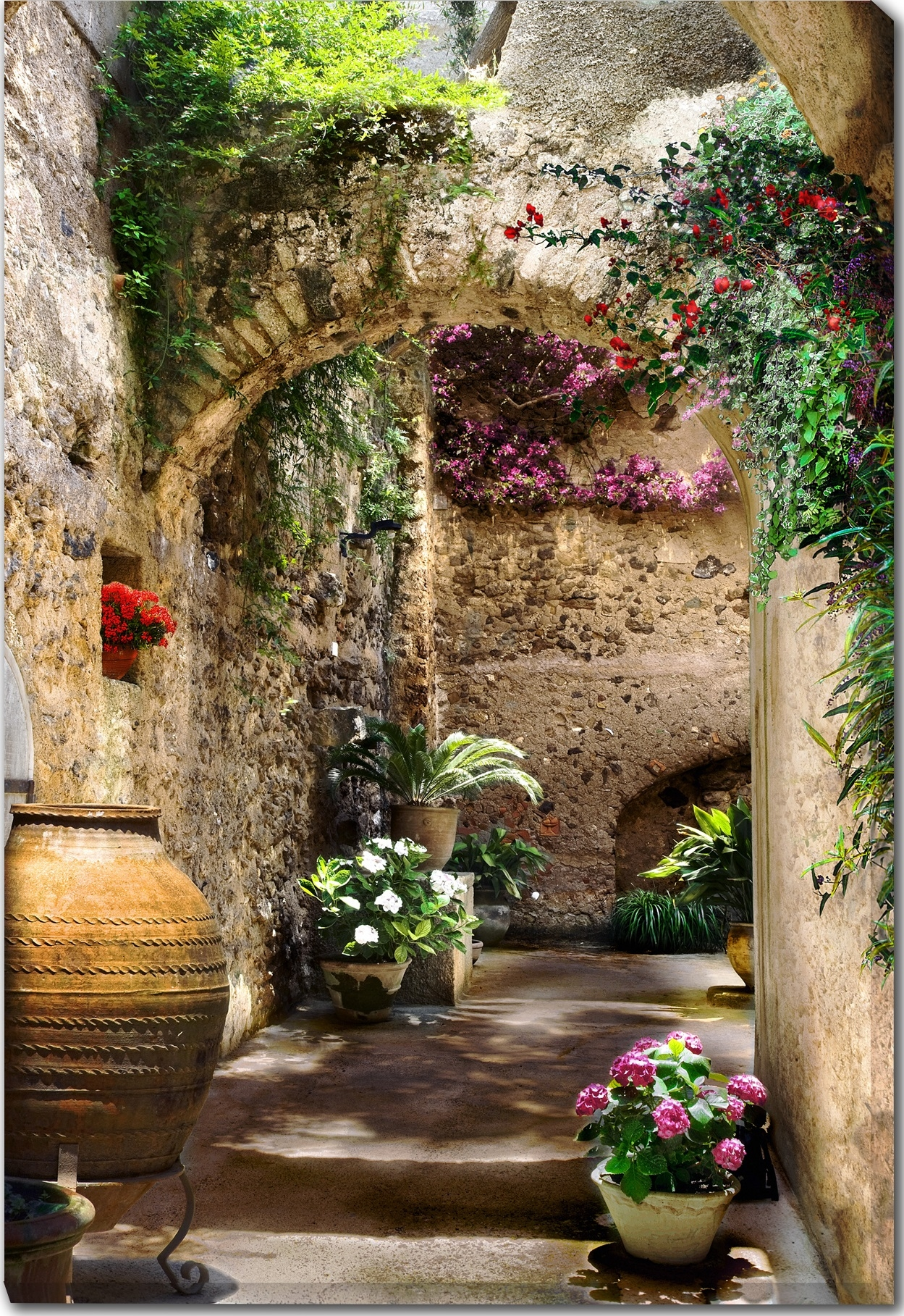 Canvas Wall Art Aragonese Arches Product Photo