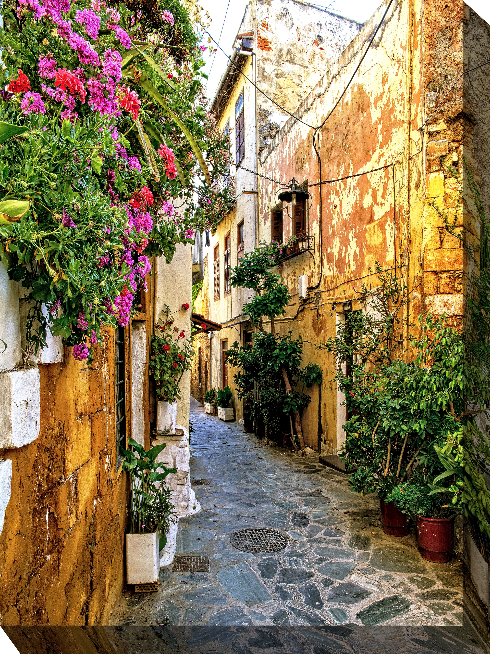 Canvas Wall Art Chania Alley Product Photo