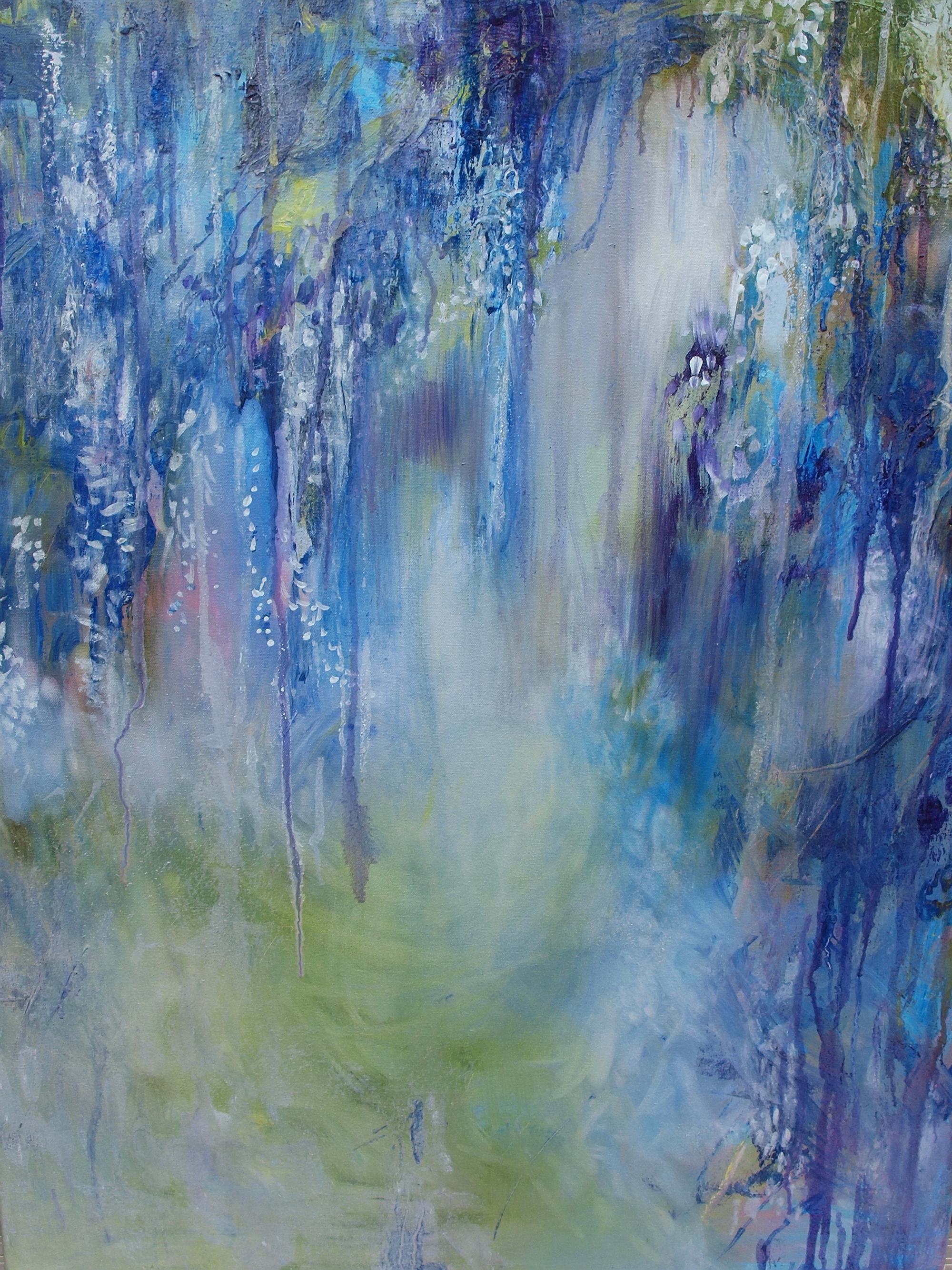 Canvas Wall Art Rhapsody Blue Product Photo