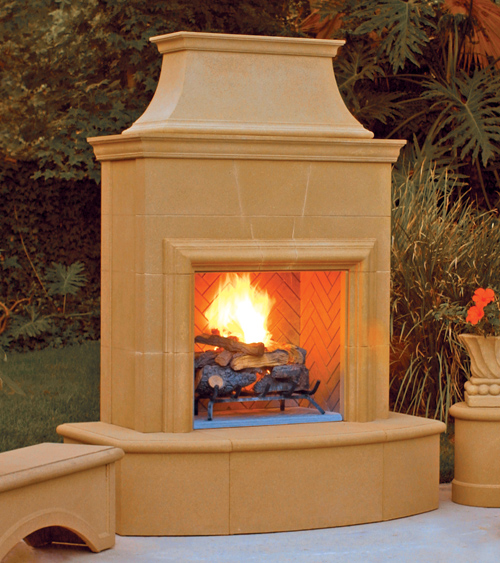Fireplace Product Photo