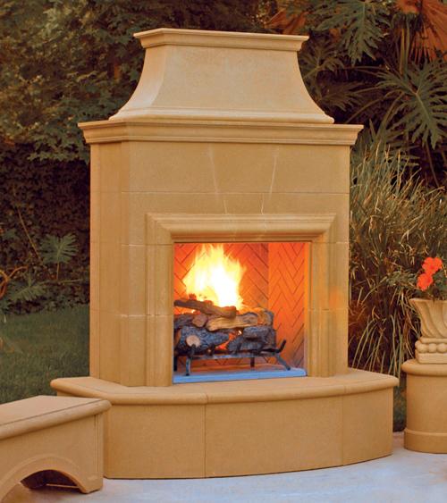 Petite Cordova Fireplace Product Photo