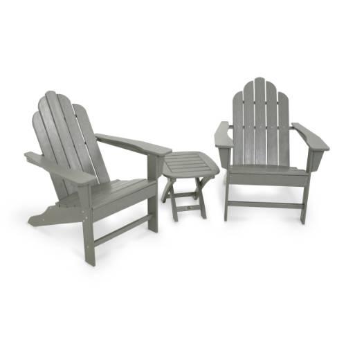 Adirondack Seating Ensemble Grey Product Photo