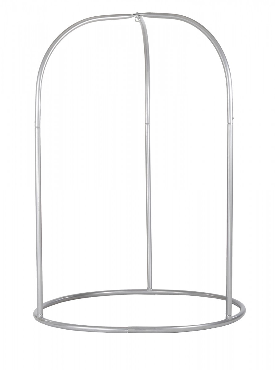 Hammock Chair Stand Silver Product Photo