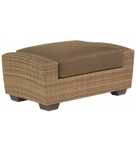 Wicker Ottoman Product Photo