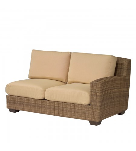 Wicker Loveseat Sectional Product Photo