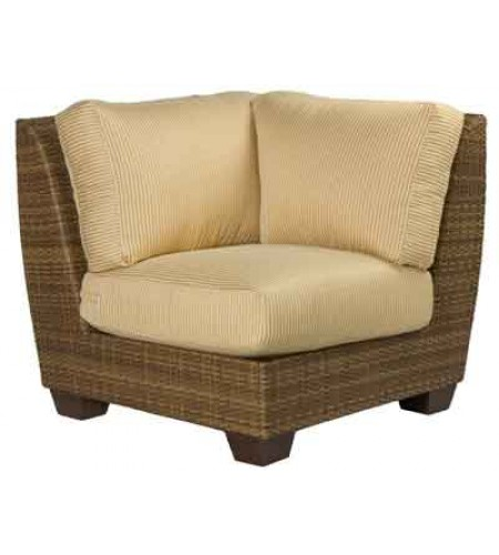 Wicker Sectional Corner Chair Product Photo